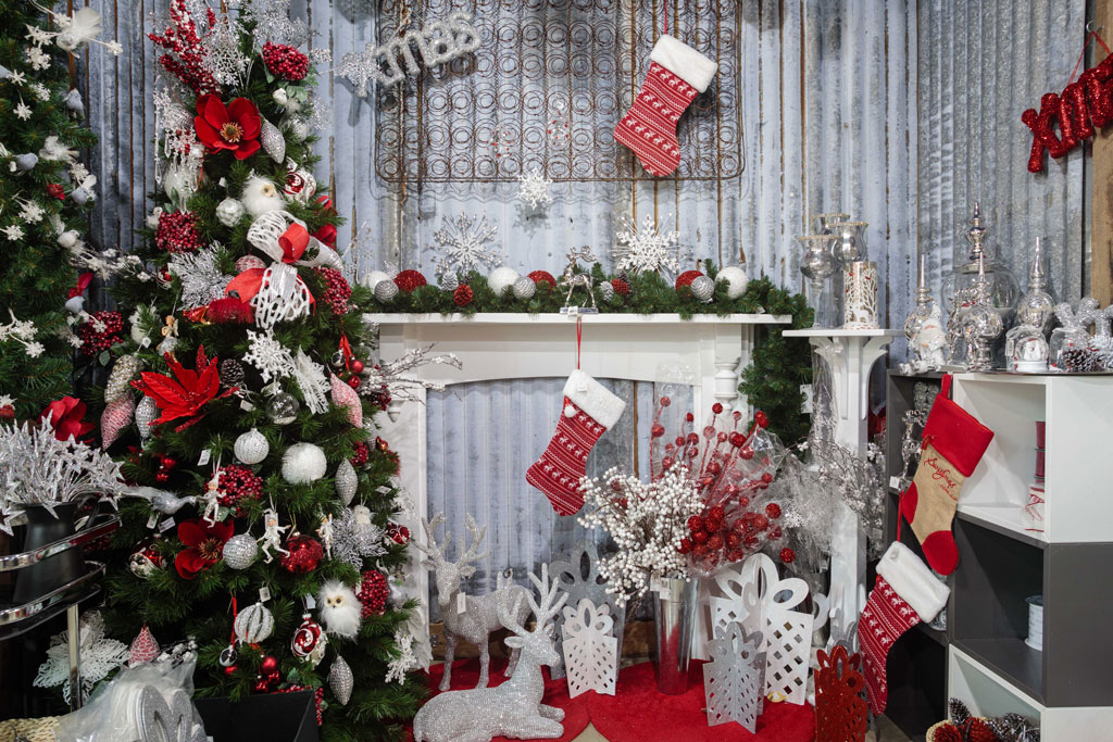 Christmas-On-Main-winter-wonder-land-christmas-trees-in-store