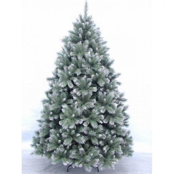 Christmas On Main New Hampshire Pine blue Frosted 7.5ft-650x650