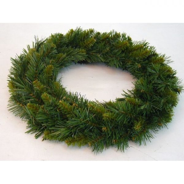 Christmas On Main Wreath New Hampshire deluxe green 18inch
