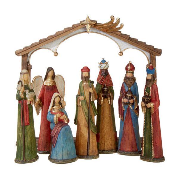 Christmas On Main 10.5 inches NATIVITY-Mornington-Peninsula
