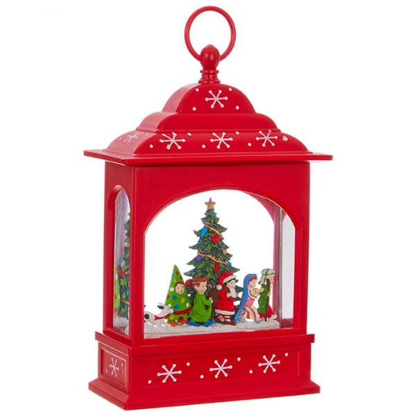 Christmas On Main 11 inches CHRISTMAS PAGEANT LIGHTED WATER LANTERN-Mornington-Peninsula