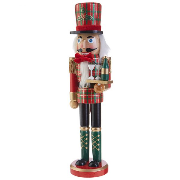 Christmas On Main 15 inches PLAID NUTCRACKER-Mornington-Peninsula