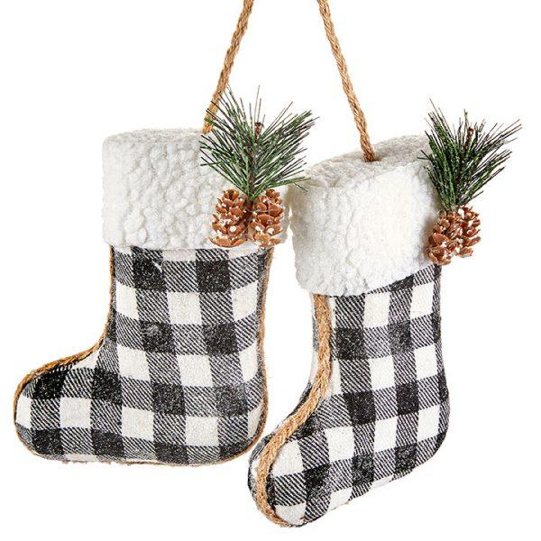 Christmas On Main 15.75 inches BOOT ORNAMENT-Mornington-Peninsula