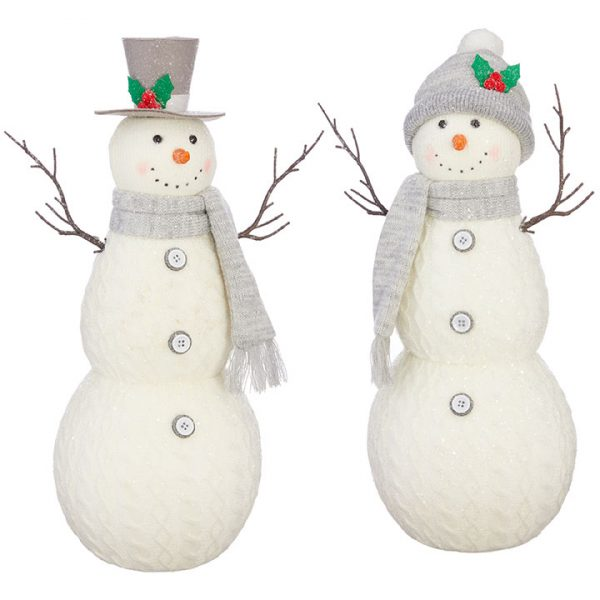 Christmas On Main 18 inches KNIT SNOWMAN-Mornington-Peninsula