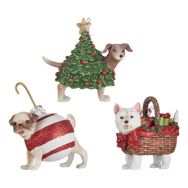 Christmas On Main 3.75 inches DOG ORNAMENT-Mornington-Peninsula