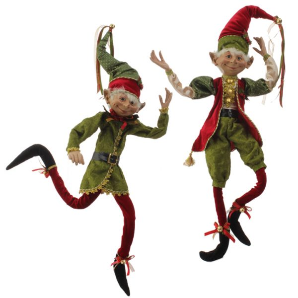 Christmas On Main 30 inches POSABLE ELF Green-Mornington-Peninsula