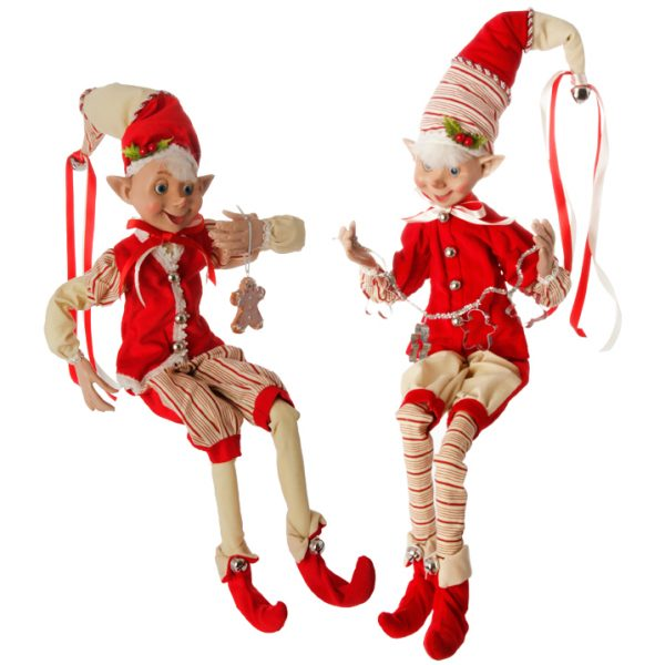 Christmas On Main 30 inches POSABLE ELF-Mornington-Peninsula