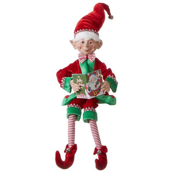 Christmas On Main 30 inches POSABLE ELF book-Mornington-Peninsula