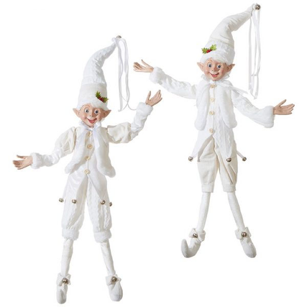 Christmas On Main 30 inches POSABLE ELF white 2s-Mornington-Peninsula