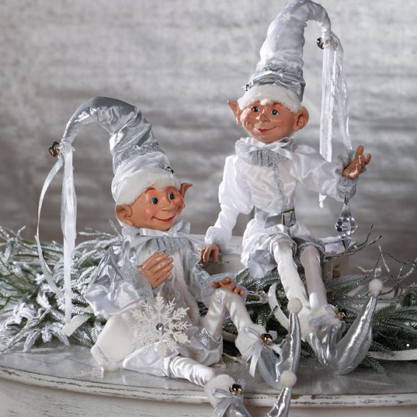 Christmas On Main 30 inches POSABLE ELF white-Mornington-Peninsula