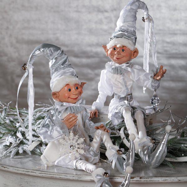Christmas On Main 30 inches POSABLE ELF white-Mornington-Peninsula