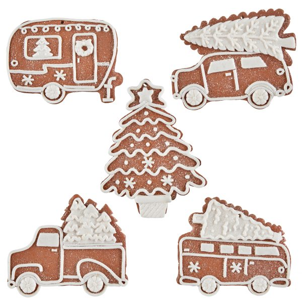 Christmas On Main 4.5 inches GINGERBREAD AUTOMOBILE ORNAMENT-Mornington-Peninsula