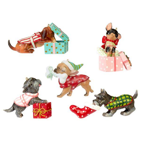 Christmas On Main 4.75 inches DOG ORNAMENT-Mornington-Peninsula