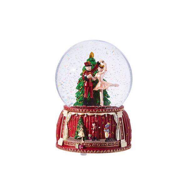 Christmas On Main 5.5 inches NUTCRACKER GLOBE-Mornington-Peninsula