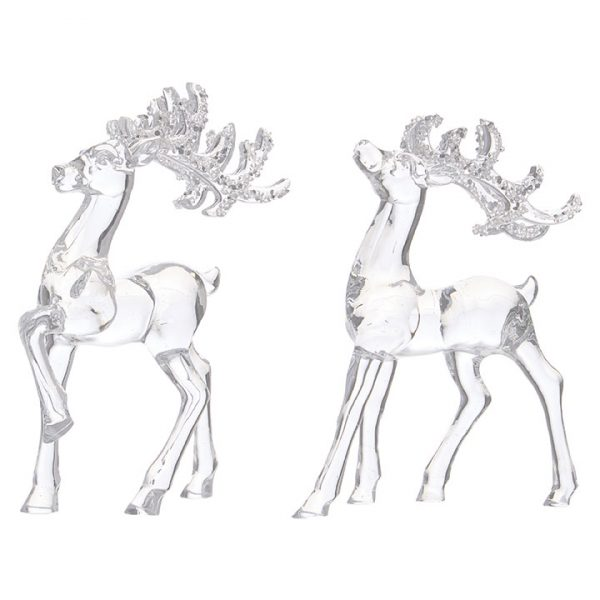Christmas On Main 6.25 inches DEER ORNAMENT-Mornington-Peninsula