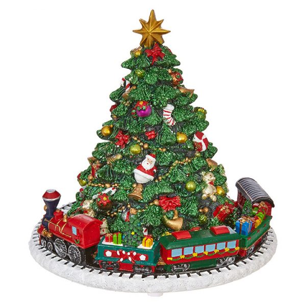 Christmas On Main 6.5 inches ANIMATED MUSICAL TREE-Mornington-Peninsula