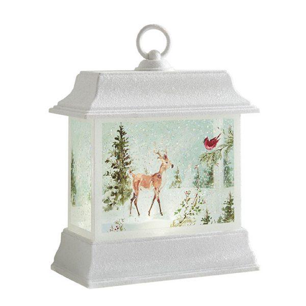 Christmas On Main 8.5 inches LIGHTED WOODLAND ANIMAL WATER LANTERN-Mornington-Peninsula