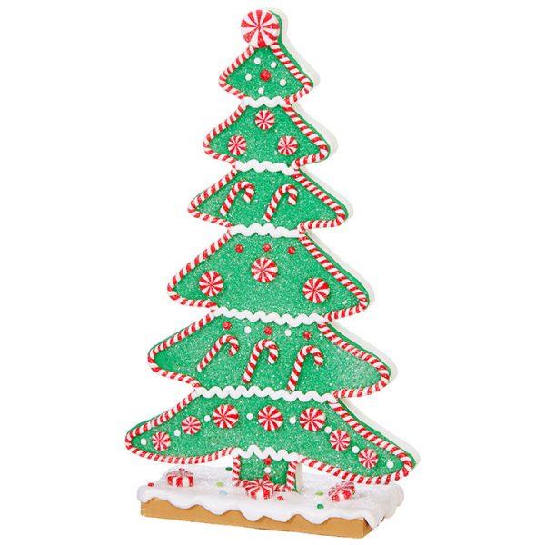 Christmas On Main 9.5 inches GINGERBREAD TREE-Mornington-Peninsula