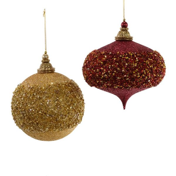 Gifts Large Encrusted Ornament 2A
