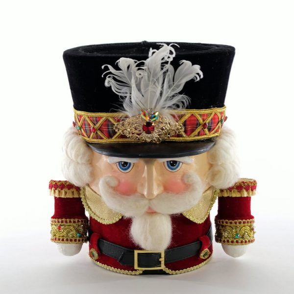 Nutcracker Candy Container