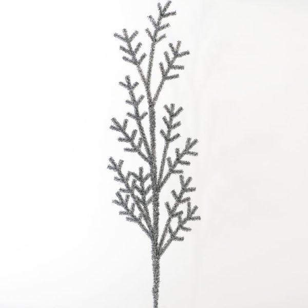 Silver Tinsel Branch