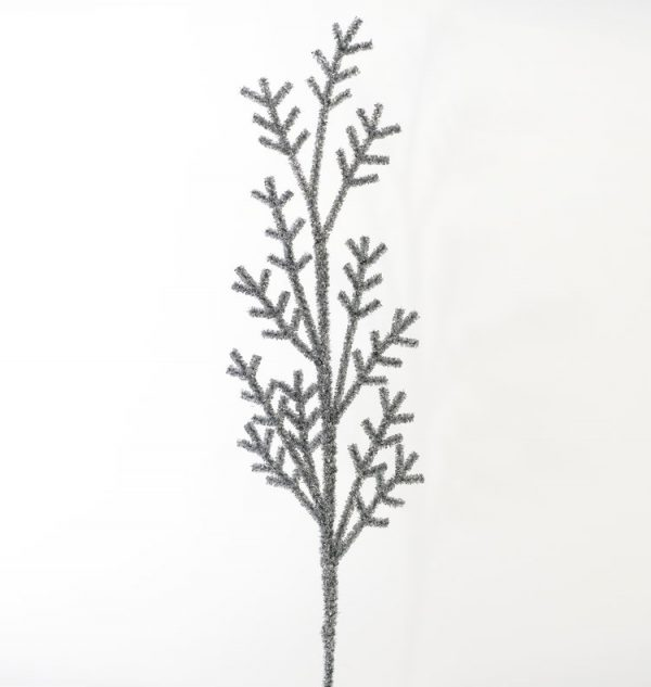 Silver Tinsel Branch