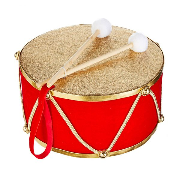Christmas On Main - 10.5 Inches Drum Ornament