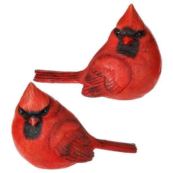 Christmas On Main - 5.5 Inches Cardinal Birds