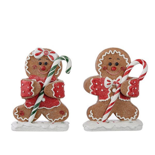 Christmas On Main - 8 Inches Gingerbread with Candy
