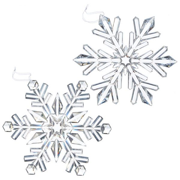 Christmas On Main - 9 Inches Snowflake Ornament