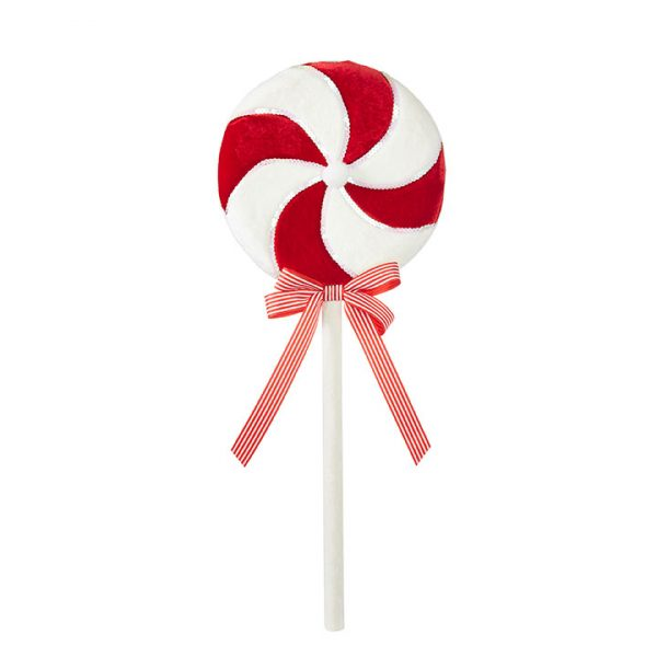 Christmas On Main - Red White Lollipop
