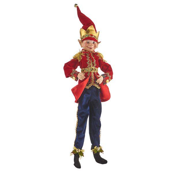 Christmas on Main - 16 Inches Nutcracker Poseable Elf