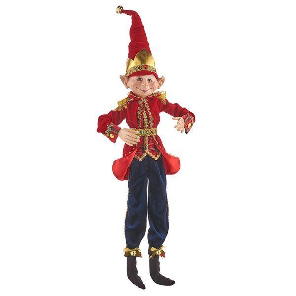 Christmas on Main - 30 Inches Nutcracker Poseable Elf