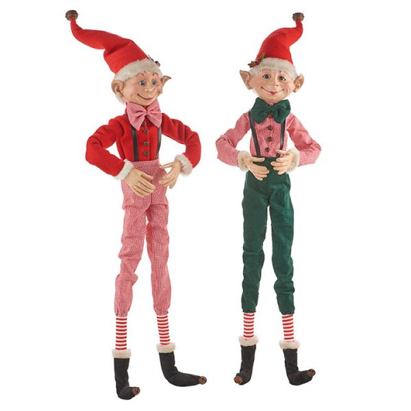 Christmas on Main - 30 Inches Poseable Elf