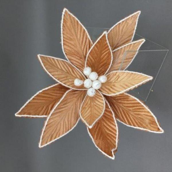 GINGERBREAD FLOWER