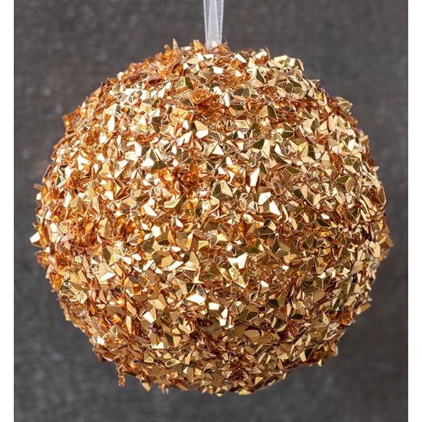 Christmas-on-Main-Glitter-Ball-Orn-Gold-10cm
