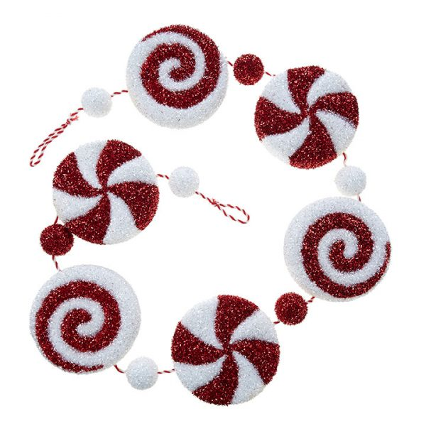 Christmas on Main - Peppermint Garland