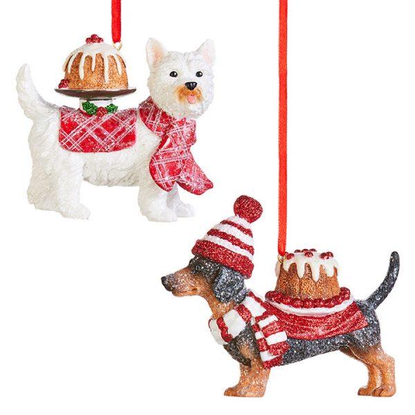 Christmas on Main - Pupcake Dog Ornament