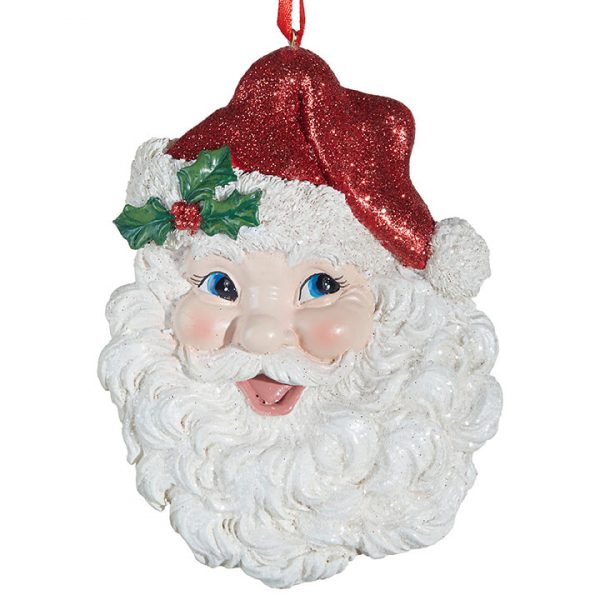 Christmas on Main - Santa Face Orn