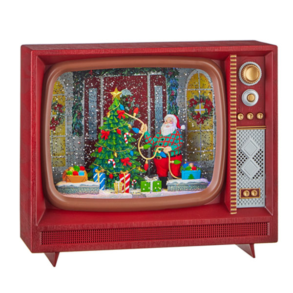 Christmas-on-Main-Santa-TV-Water-Lantern-with-Music