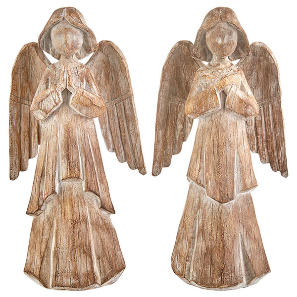 Christmas-on-Main-Wooden-Angel-Set-of-2